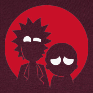 Camisetas Rick & Morty - Batman & Robin