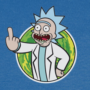 Camisetas Rick & Morty - Fallout Boy