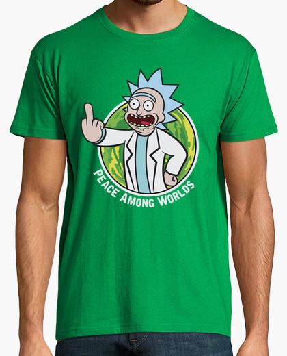 Camiseta Rick & Morty - Fallout Boy (letras)
