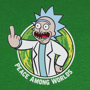 Camisetas Rick & Morty - Fallout Boy (letras)