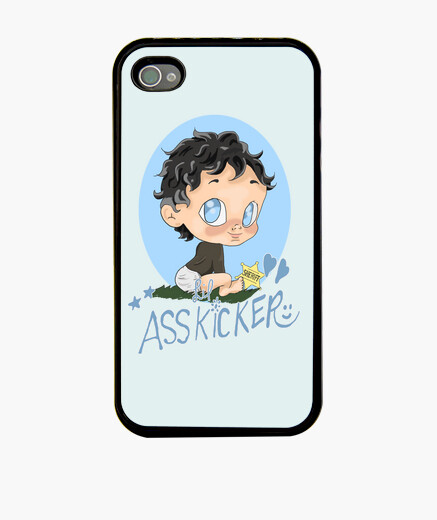 Funda iPhone Rick Grimes Lil Asskicker