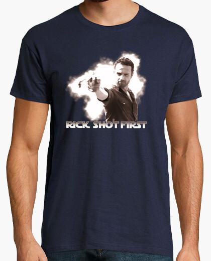 Camiseta Rick Shot First