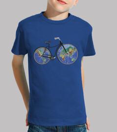 ride bike / wheels world map