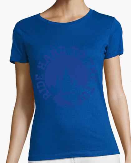 Camiseta Ride Hard To The Top