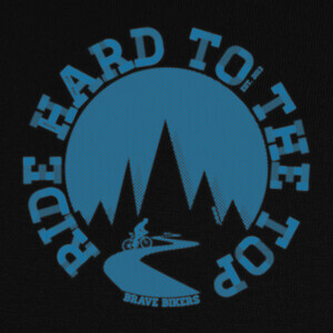 Camisetas Ride Hard To The Top