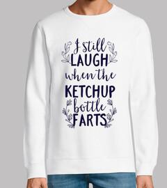 Ride still quando la bottiglia di ketch