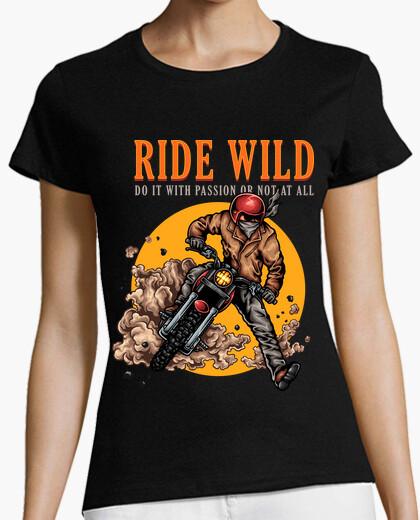 Camiseta Ride Wild