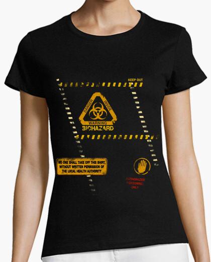 Camiseta riesgo biológico