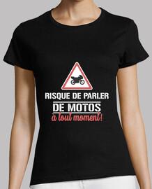 riesgo de hablar de motos