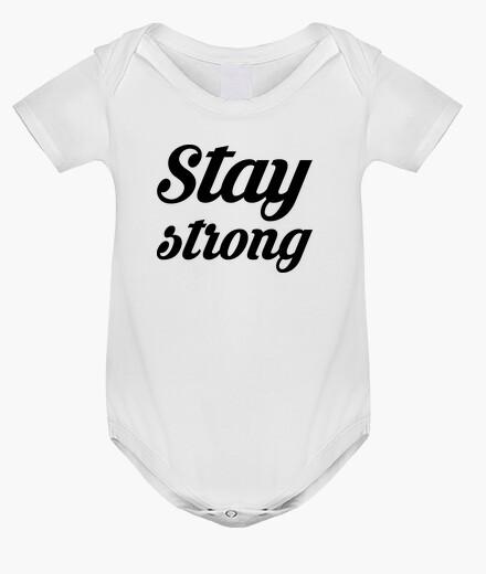 Abbigliamento bambino rimanere forte / coraggiosi / quote