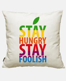 rimanere soggiorno fame stupido - steve jobs ap