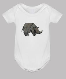 rinoceronte blanco chico t