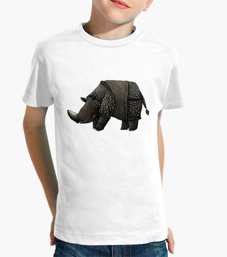 Ropa infantil rinoceronte negro niño t