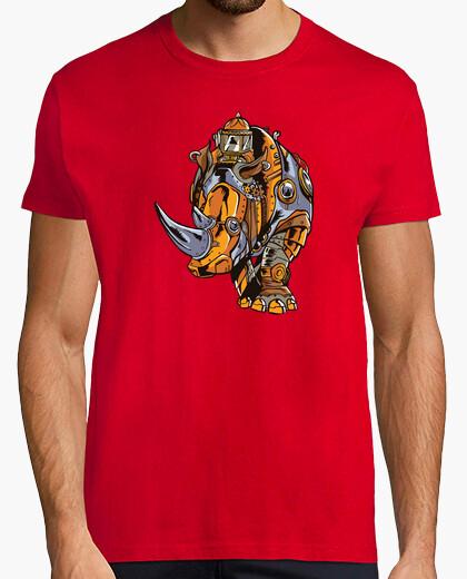 Camiseta Rinoceronte Steampunk