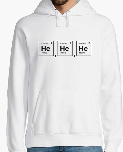Sweat rire scientifique hélium