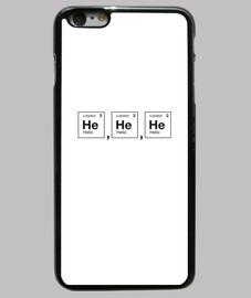 Risa científica. Helio