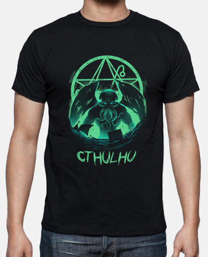 rise of cthulhu shirt mens