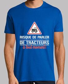 Risque de parler de tracteurs