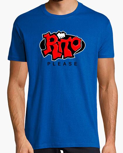 T-shirt rite per favore (lega di legends sommossa)