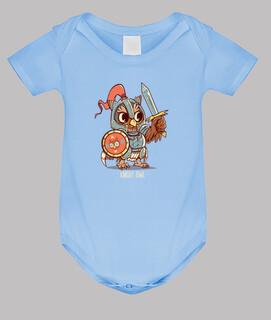 Ritter Eule Tier Wortspiel Shirt