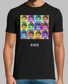 River Phoenix-Pop Art Mosaico