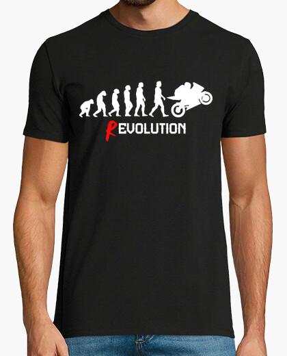 T-shirt rivoluzione motociclista