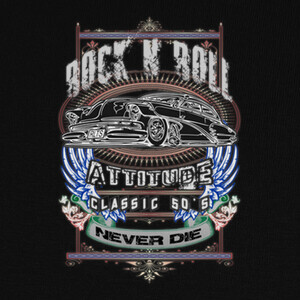 T-shirt RnR attitude 2