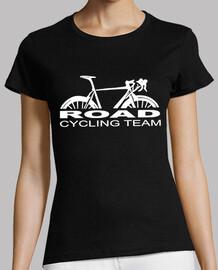 Road cycling team blanc