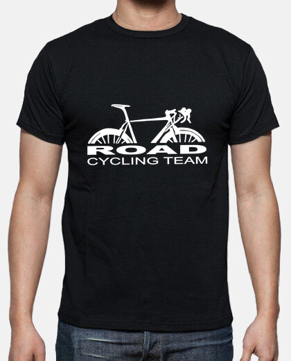 Road cycling team blanc