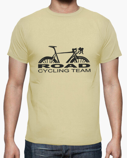 Road cycling team t-shirt