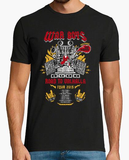 Camiseta Road to Valhalla Tour