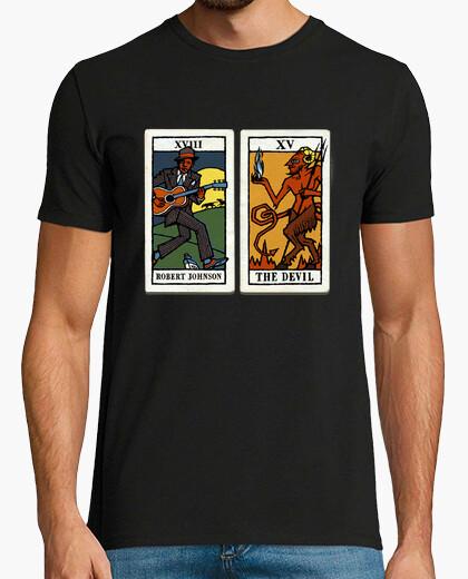 Camiseta Robert Johnson y el Diablo