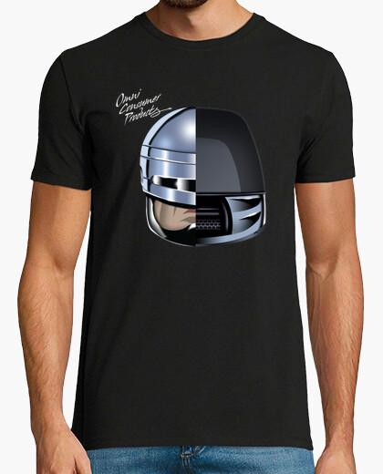 Tee-shirt robo de punk