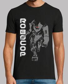 RoboCop camiseta negra