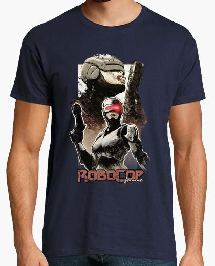Camiseta RoboCop femenina
