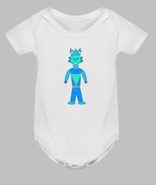 robot azul
