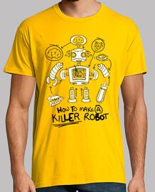 Robot camisetas friki