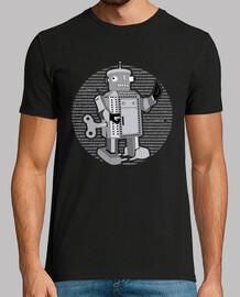 robot de juguete retro