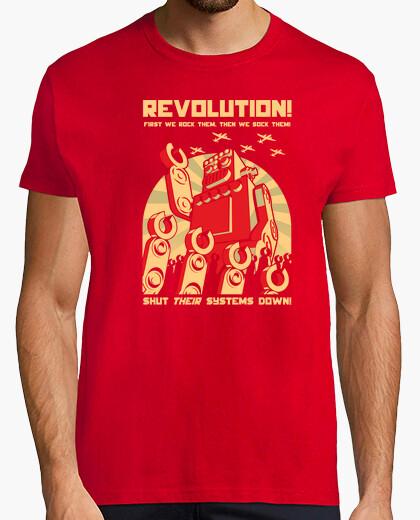 Tee-shirt robot revolutution