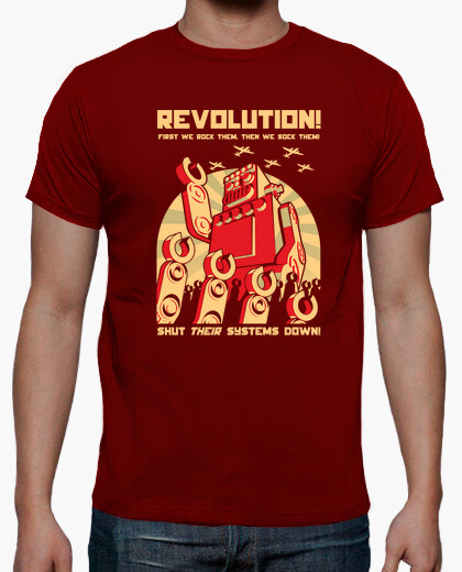 Robot Revolutution t-shirt