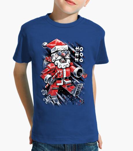 Ropa infantil robot Santa Claus
