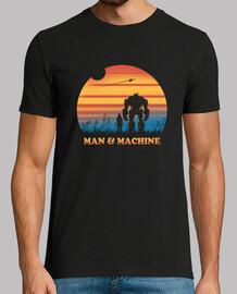robot se sent chemise hommes