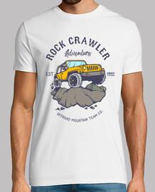 rocce avventura t-shirt fuoristrada