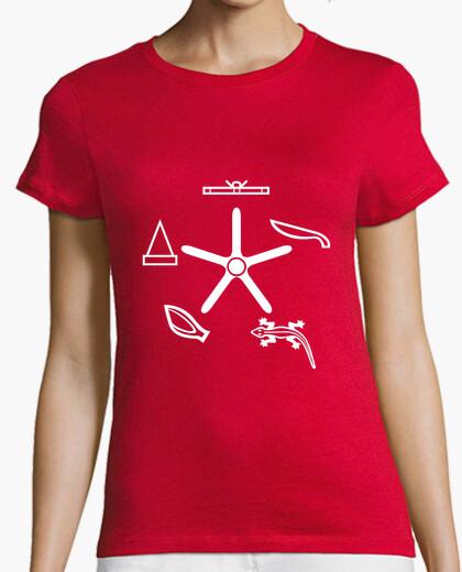 T-shirt roccia papiro forbici lucertola spock (