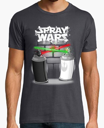 Camiseta rocíe las guerras