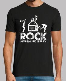 rock - plus de musique moins la télévision