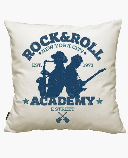 Housse de coussin rock & roll académie