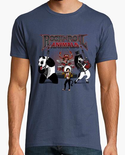 Camiseta Rock & Roll Animals
