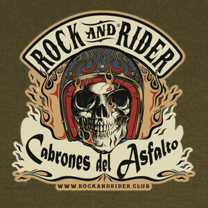 Tee-shirts rock and rider cabrones del asfalto