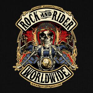 Camisetas Rock And Rider Worldwide original